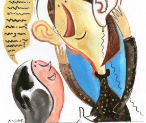 Escutar, mais do que ouvir; conversar, mais do que falar